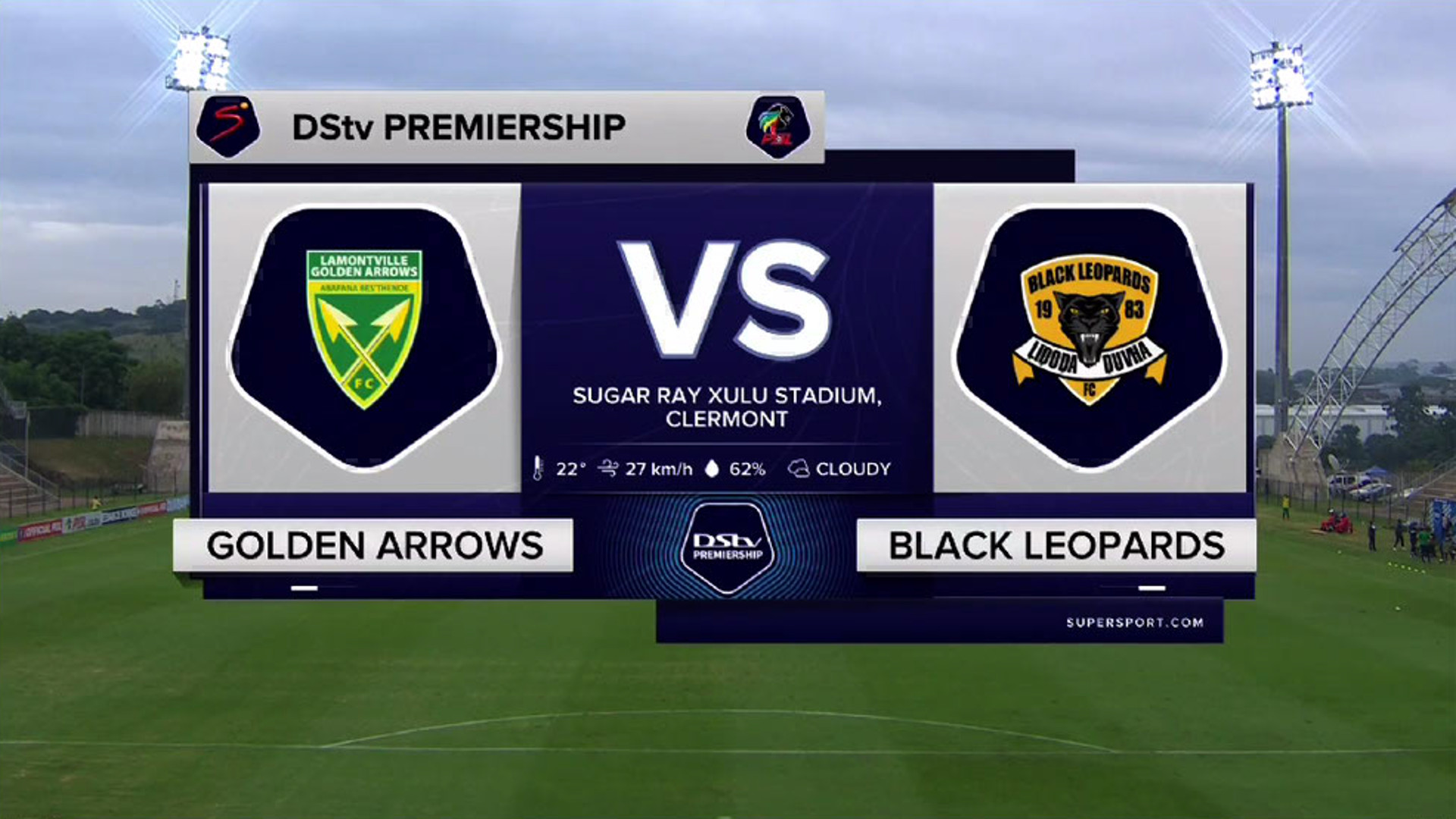 DStv Premiership | Golden Arrows v Black Leopards | Highlights