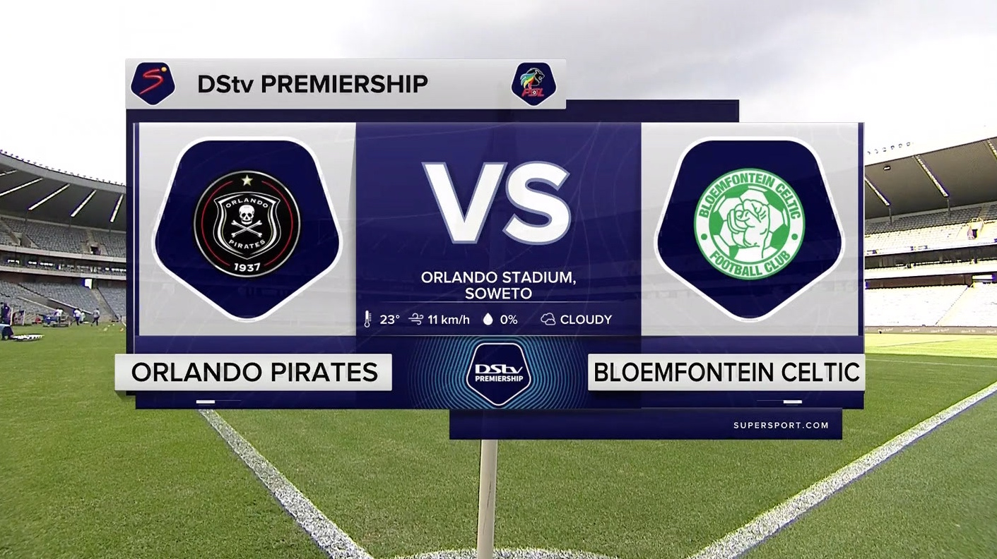 DStv Premiership I Orlando Pirate FC v Bloemfontein Celtic l Highlights