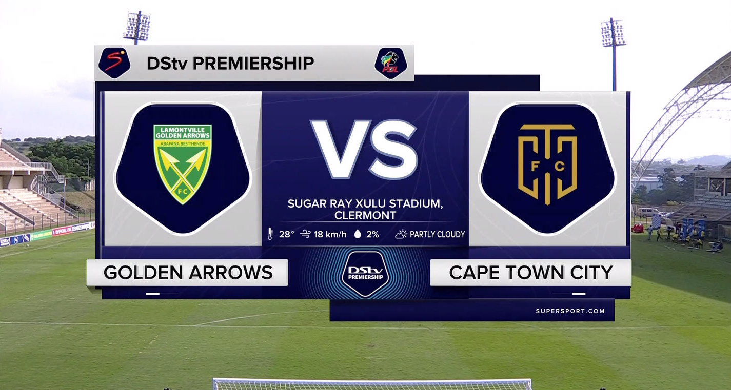 DStv Premiership I Golden Arrows v Cape Town City l Highlights