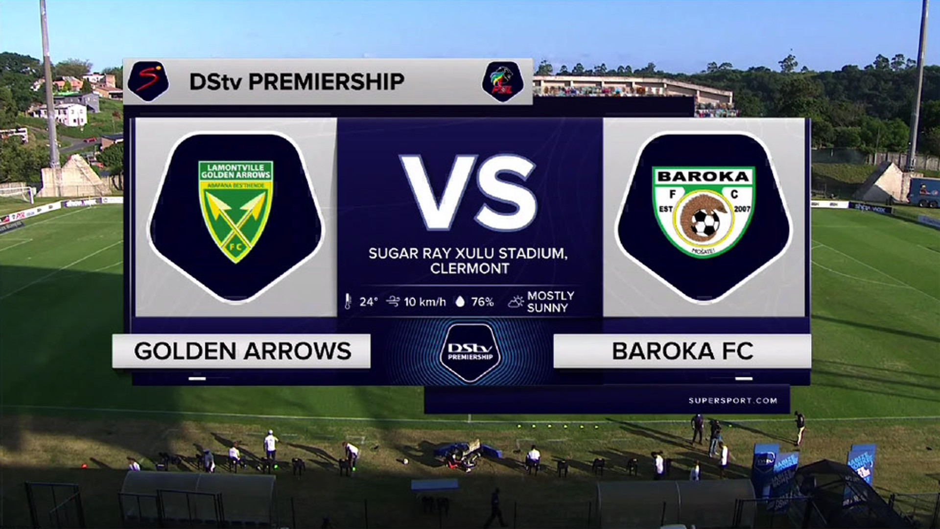 DStv Premiership I Golden Arrows v Baroka FC l Highlights