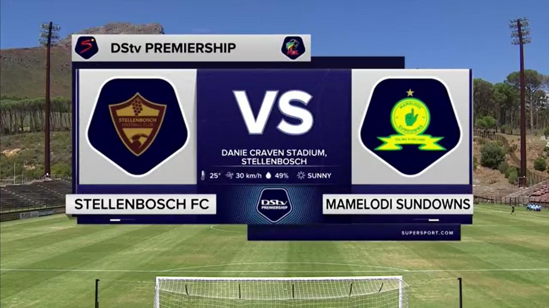 DStv Premiership | Stellenbosch FC v Mamelodi Sundowns | Highlights