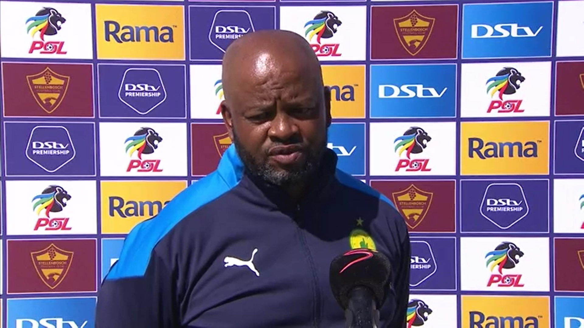 DStv Premiership | Stellenbosch FC v Mamelodi Sundowns | Post-match interview with Manqoba Mngqithi