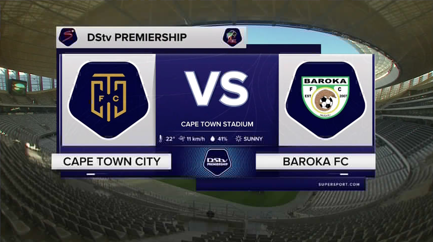 DStv Premiership I Cape Town City v Baroka FC l Highlights