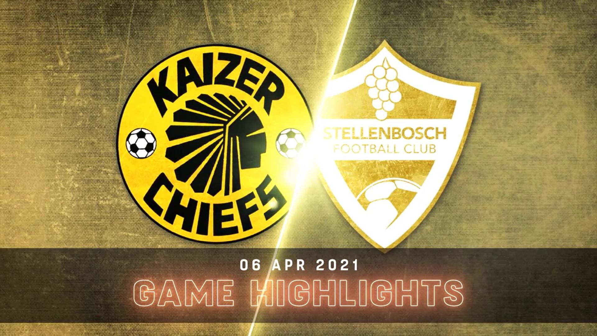 DStv Premiership I Kaizer Chiefs v Stellenbosch FC l Highlights