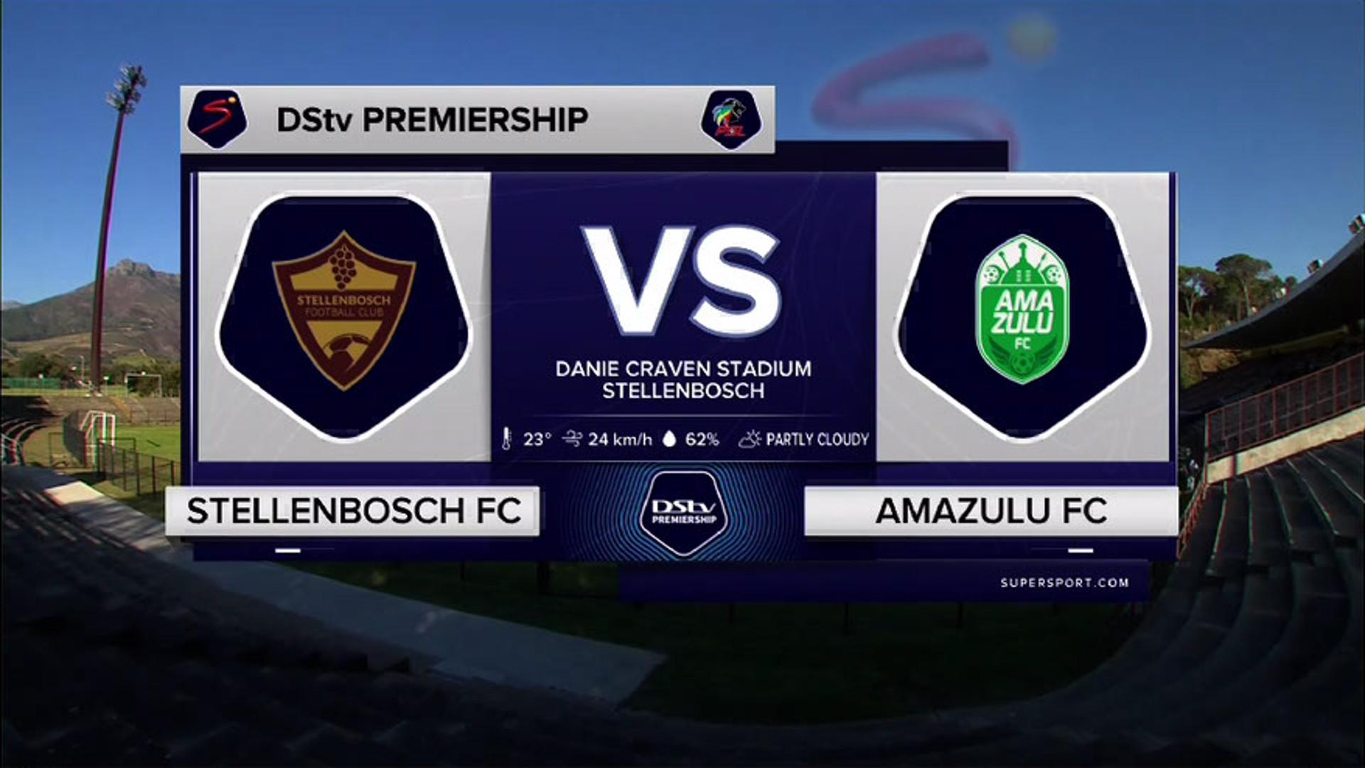 DStv Premiership I Stellenbosch FC v AmaZulu l Highlights