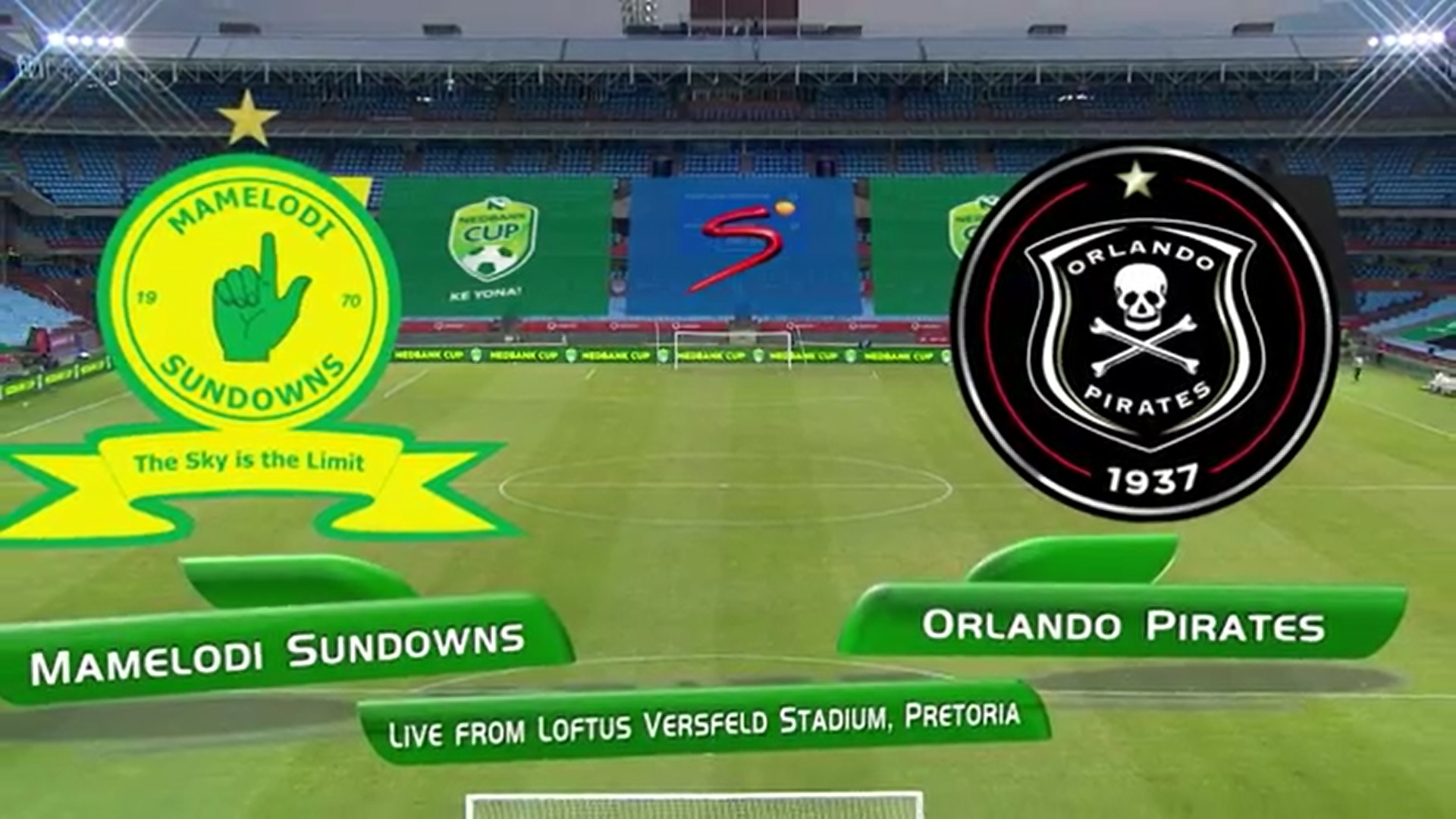 Nedbank Cup | QF | Mamelodi Sundowns v Orlando Pirates | Highlights