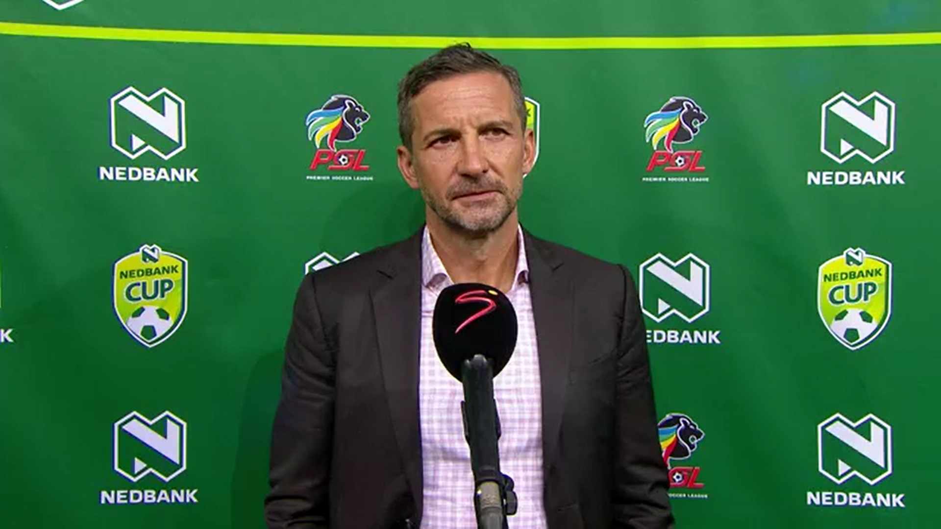 Nedbank Cup | QF | Mamelodi Sundowns v Orlando Pirates | Post-match interview with Josef Zinnbauer