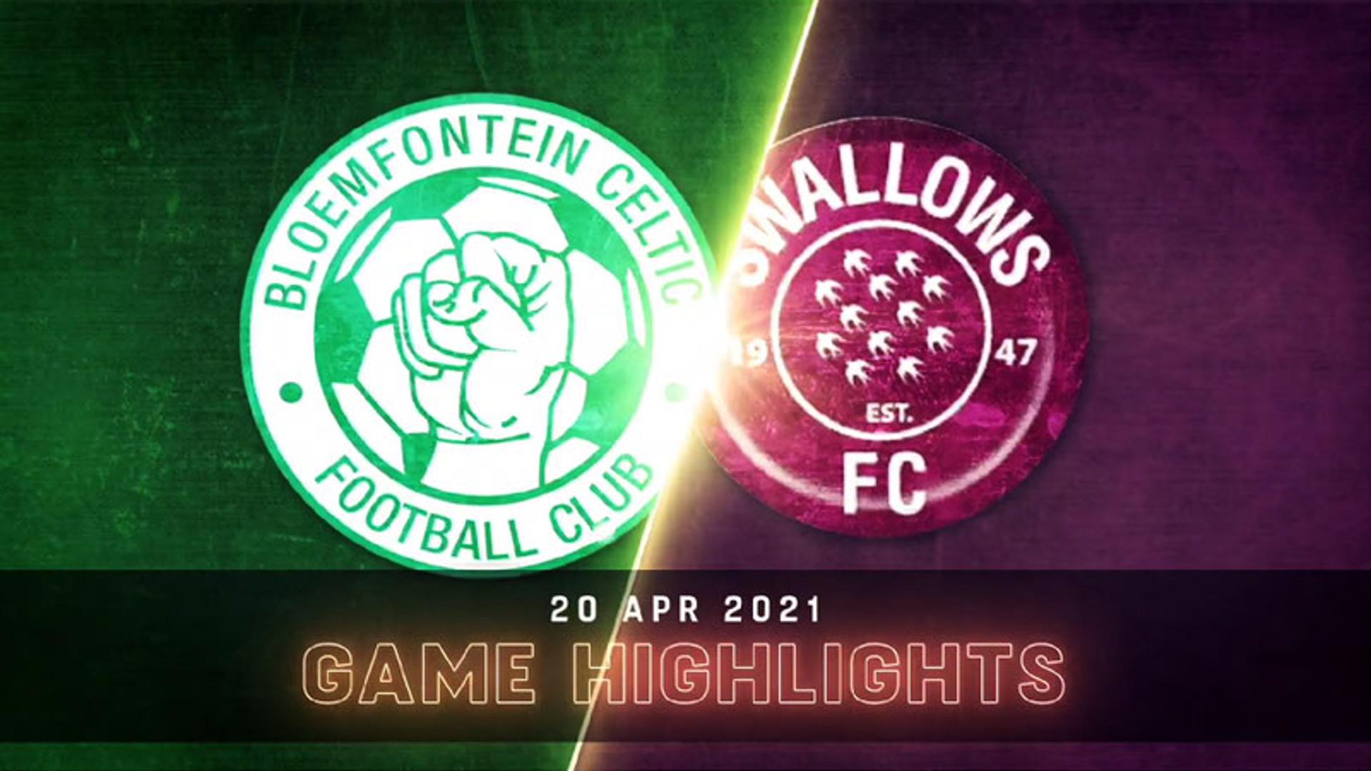 DStv Premiership   Bloemfontein Celtic v Swallows FC   Highlights