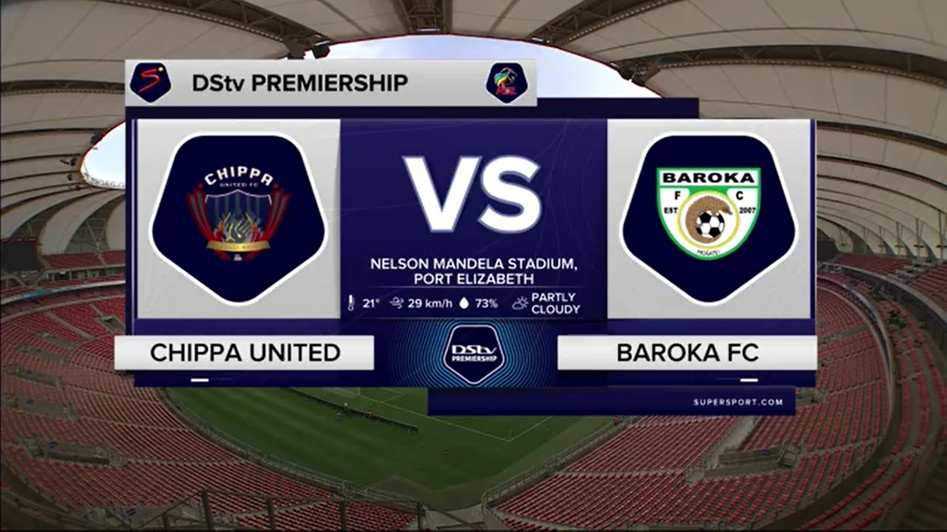 DStv Premiership | Chippa United v Baroka FC | Highlights
