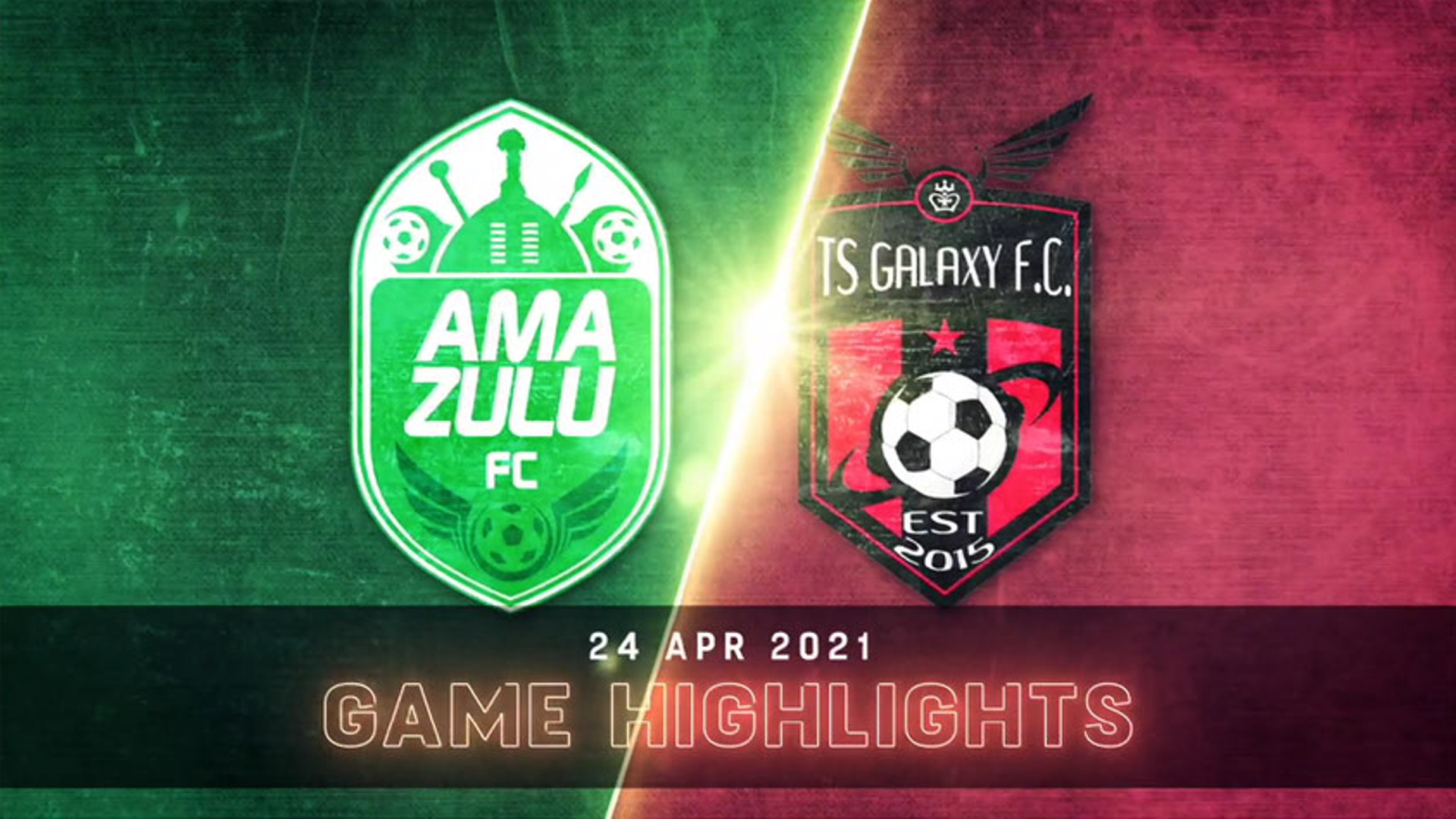 DStv Premiership | AmaZulu v TS Galaxy | Highlights
