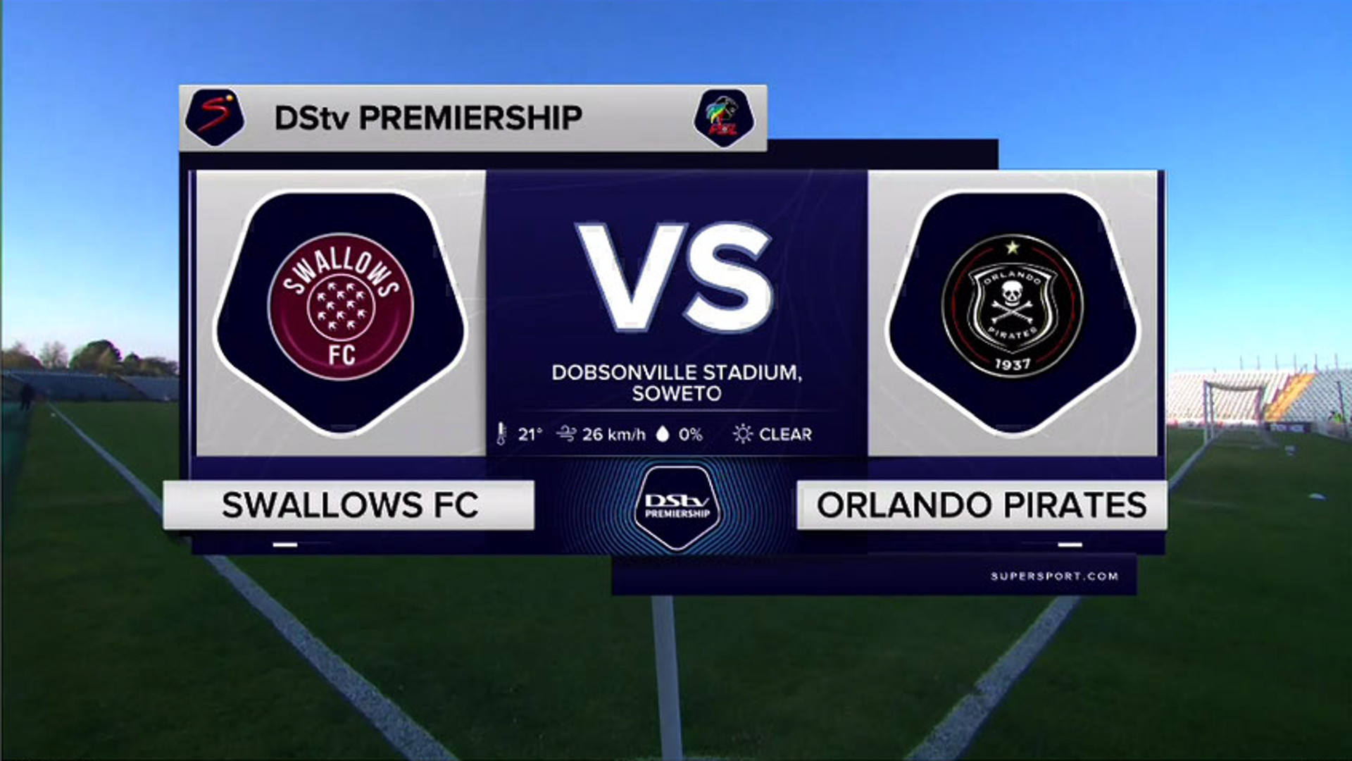 DStv Premiership   Swallows v Orlando Pirates   Highlights