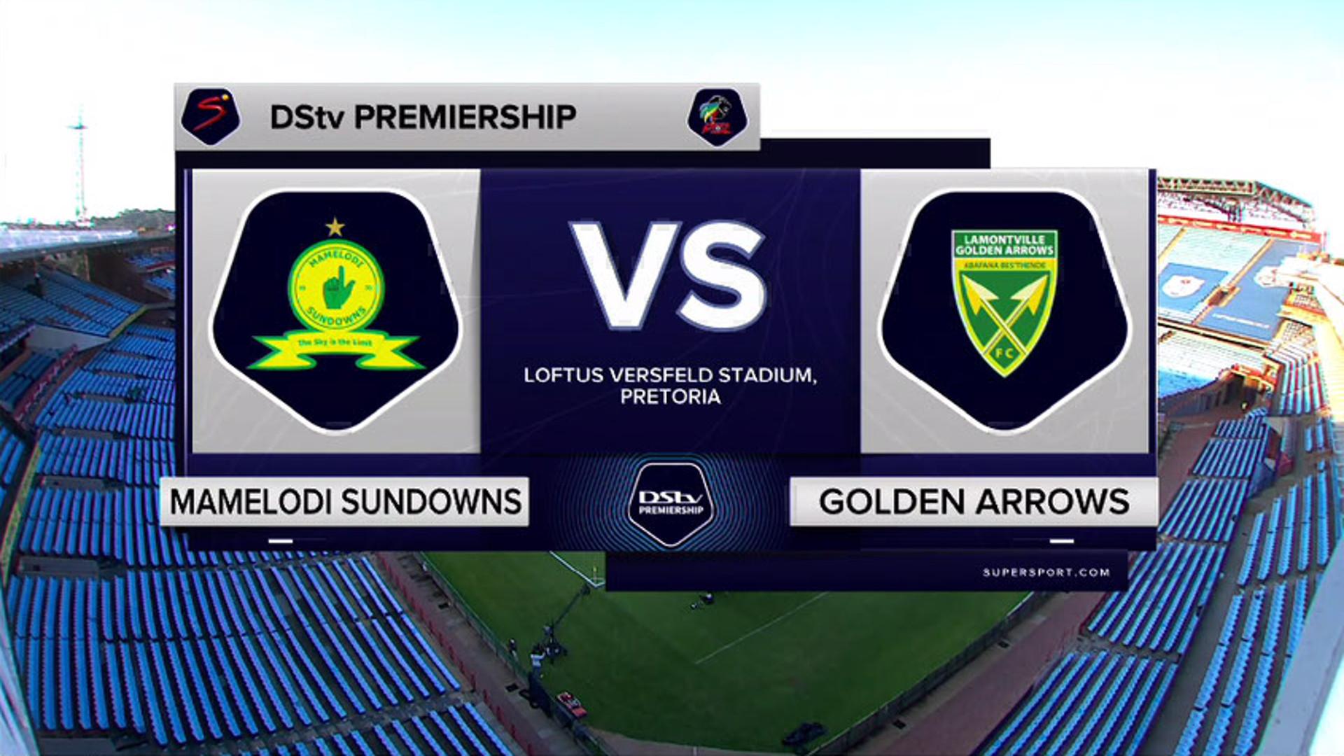 DStv Premiership l Mamelodi Sundowns v Golden Arrows l Highlights