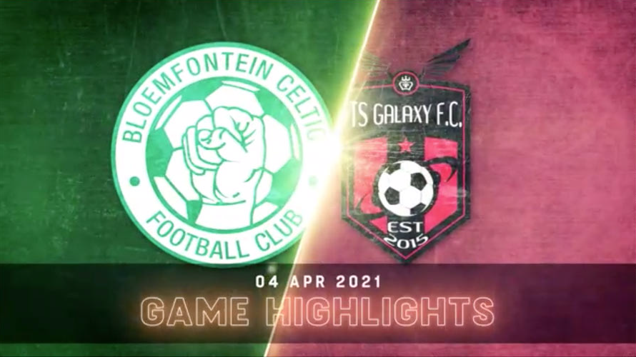 DStv Premiership I Bloemfontein Celtic v TS Galaxy l Highlights