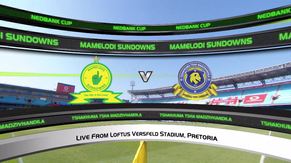 Nedbank Cup | SF | Mamelodi Sundowns v Tshakuma FC | Highlights