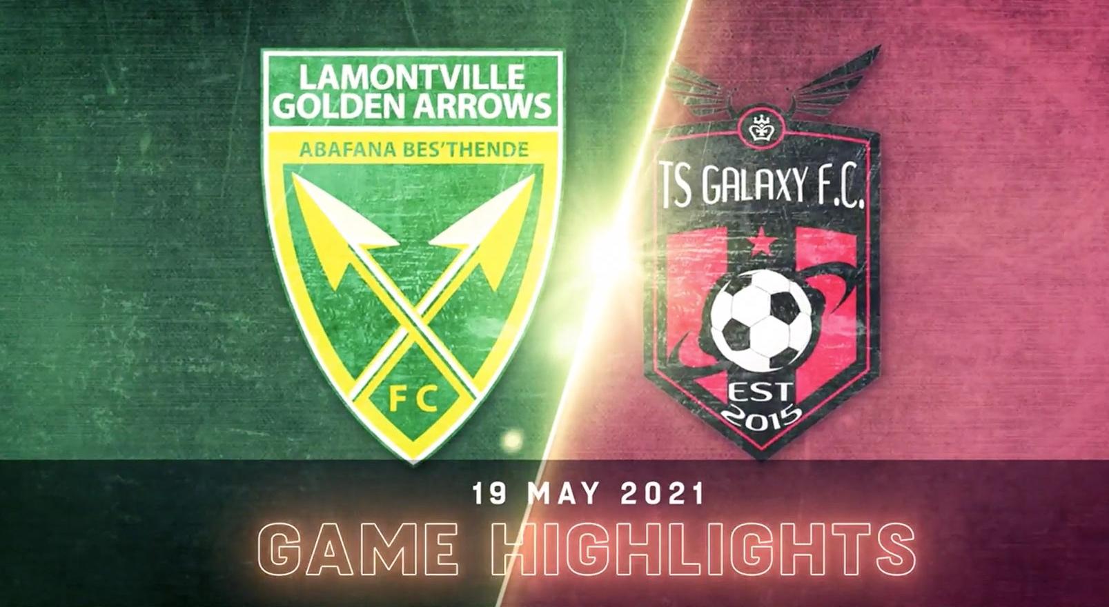DStv Premiership | Golden Arrows v TS Galaxy | Highlights