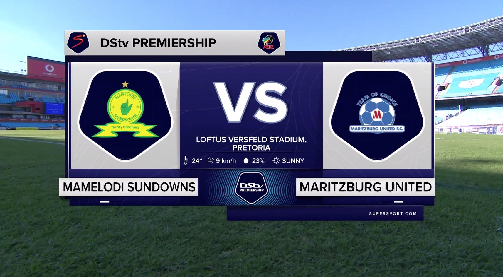 DStv Premiership I Mamelodi Sundowns v Maritzburg United  l Highlights