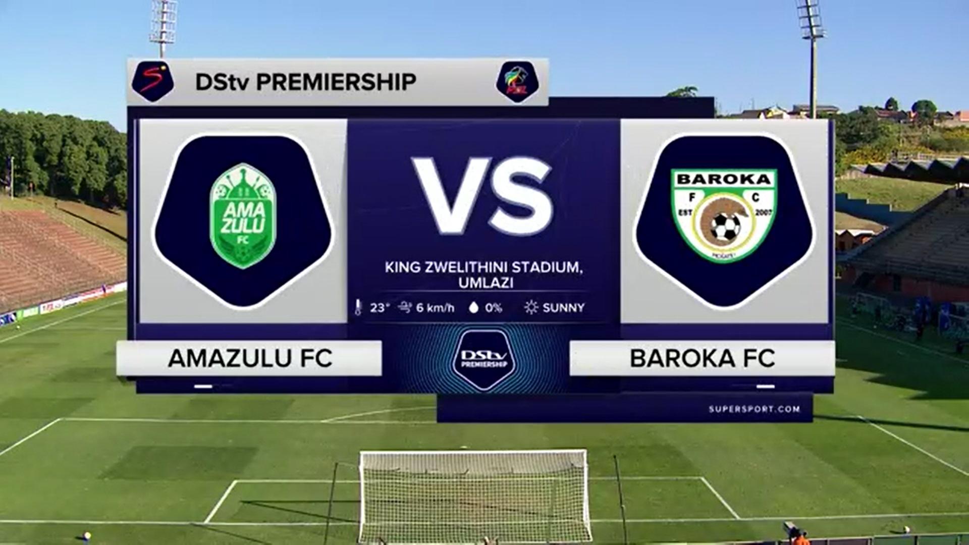 DStv Premiership | AmaZulu FC v Baroka FC | Highlights