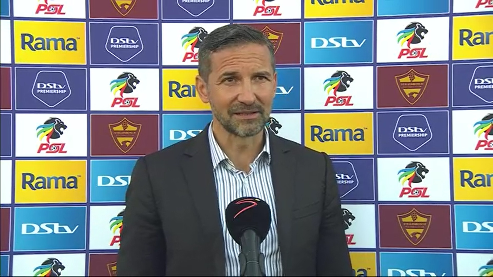 DStv Premiership | Stellenbosch FC v Orlando Pirates | Post-match interviews