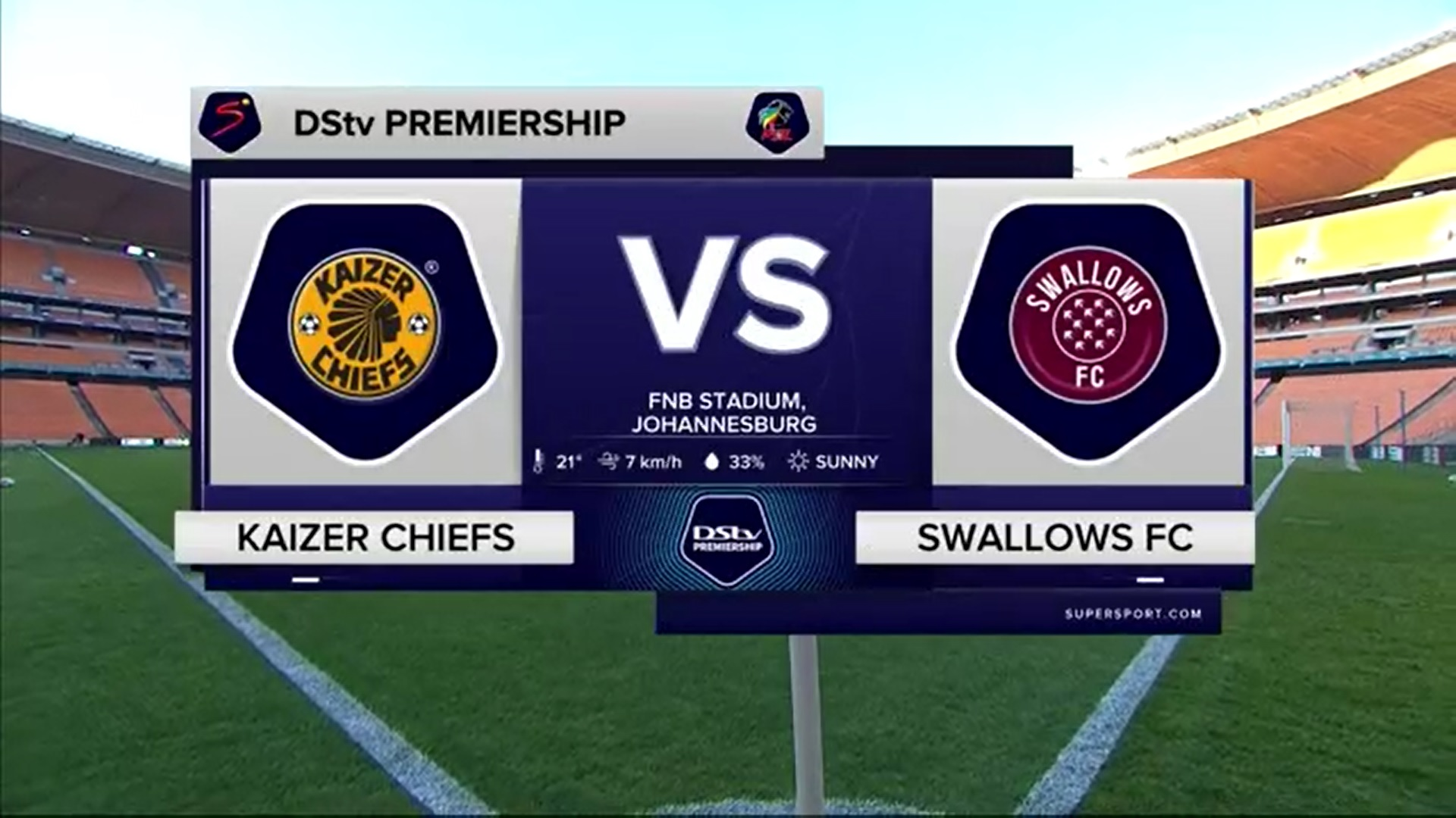 DStv Premiership | Kaizer Chiefs v Swallows FC | Highlights