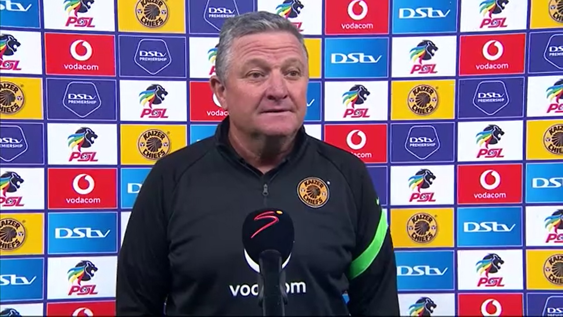 DStv Premiership | Kaizer Chiefs v Swallows FC | Post-match interview with Gavin Hunt