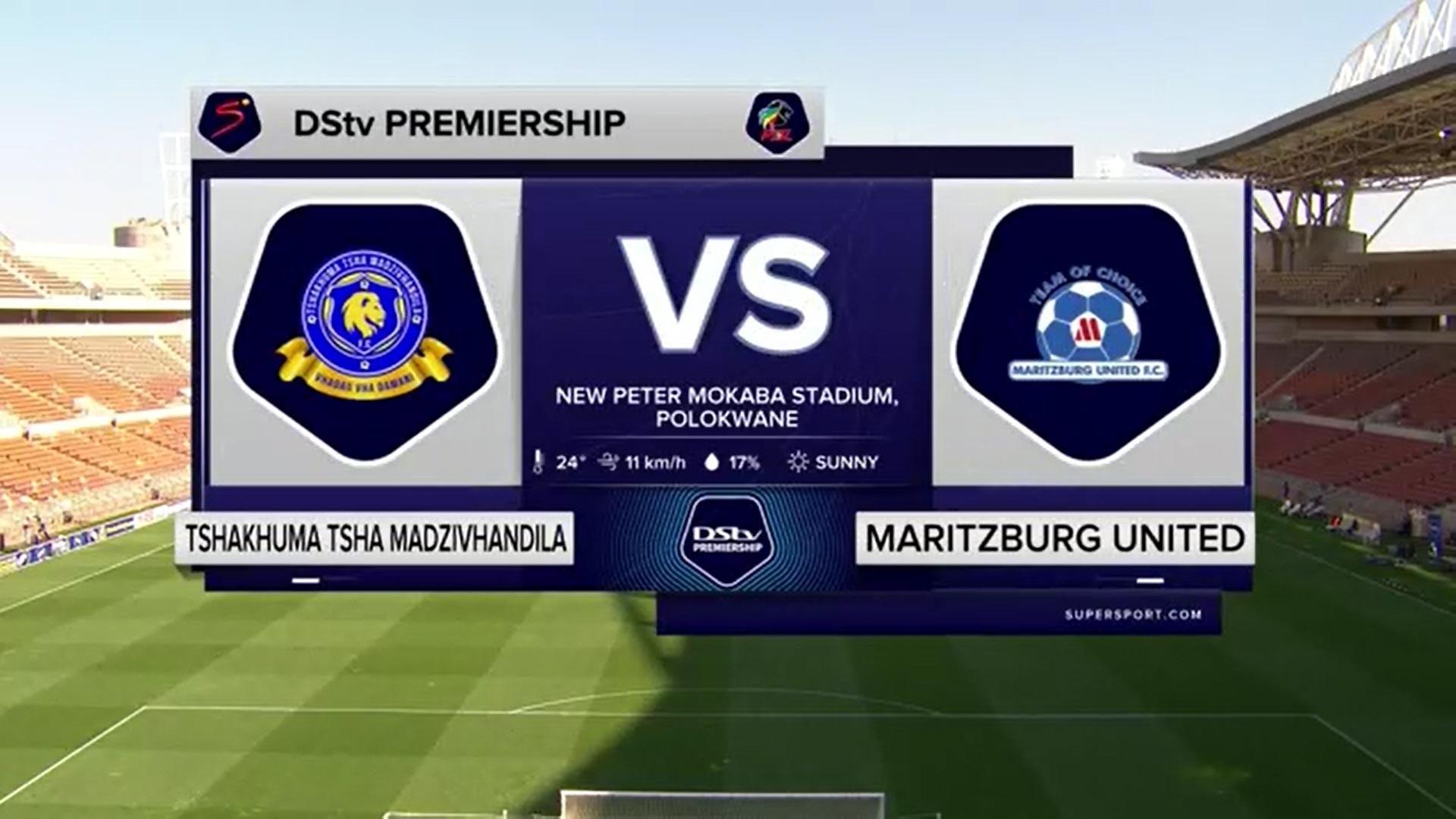 DStv Premiership | Tshakhuma Tsha Madzivhandila  v Maritzburg United | Highlights