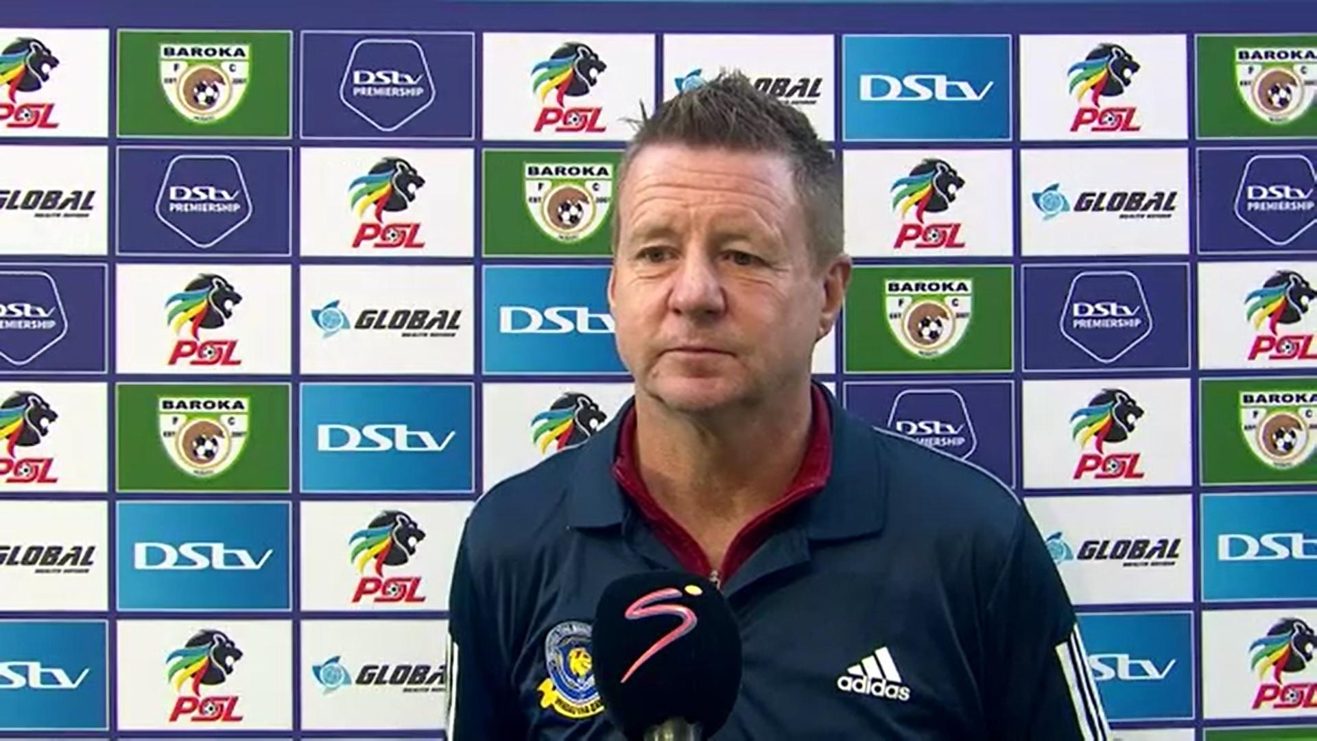 DStv Premiership | Baroka FC v Tshakhuma FC | Post-match interview with Dylan Kerr