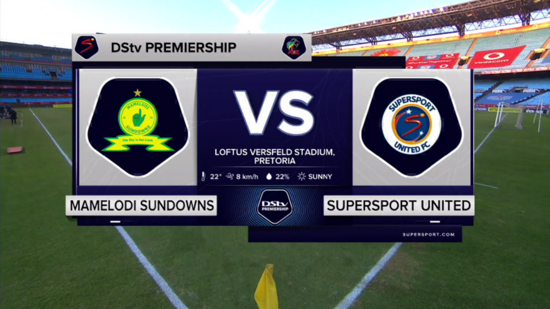 DStv Premiership |Mamelodi Sundowns v SuperSport United | Highlights
