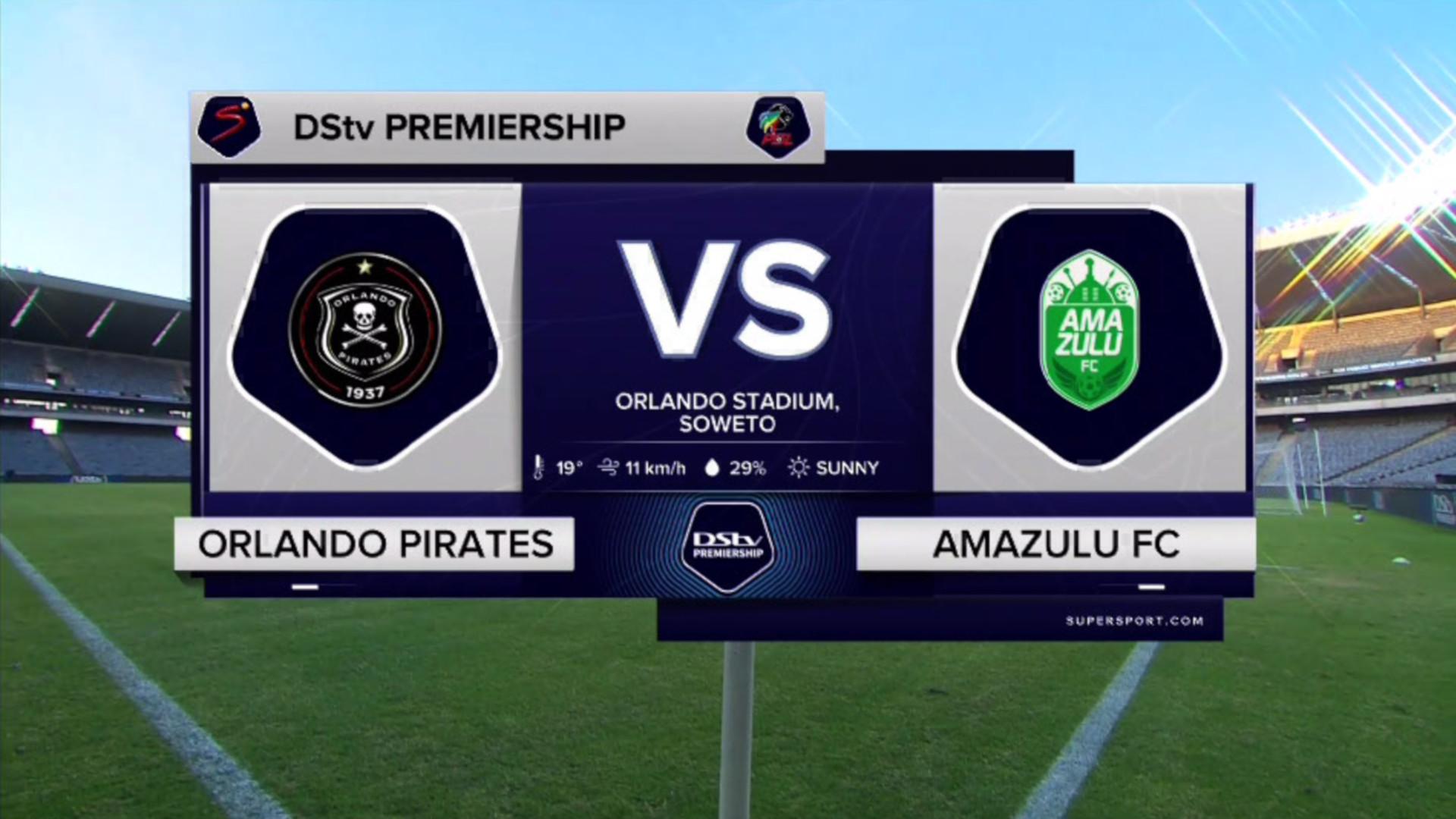 DStv Premiership | Orlando Pirates v AmaZulu FC | Highlights