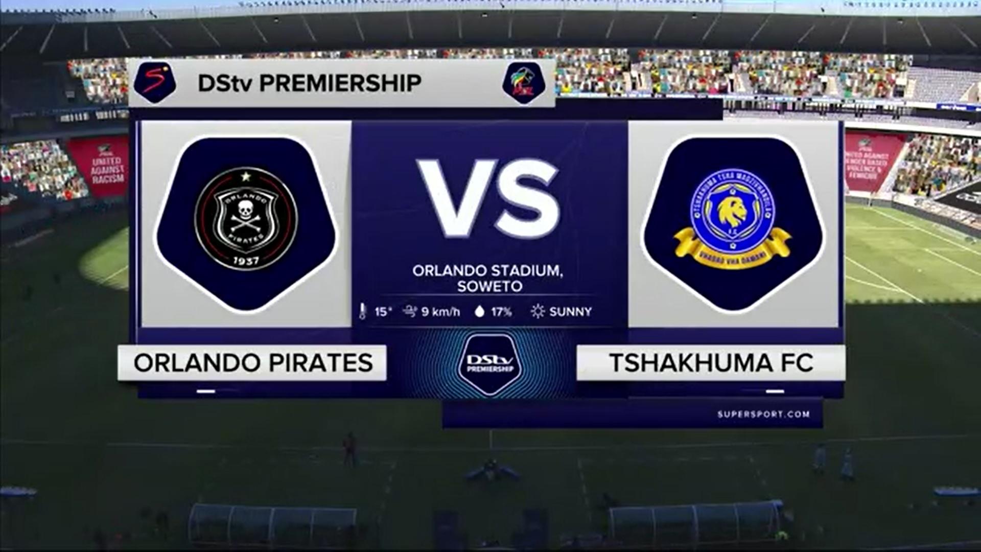 DStv Premiership | Orlando Pirates v Tshakhuma Tsha Madzivhandila | Highlights