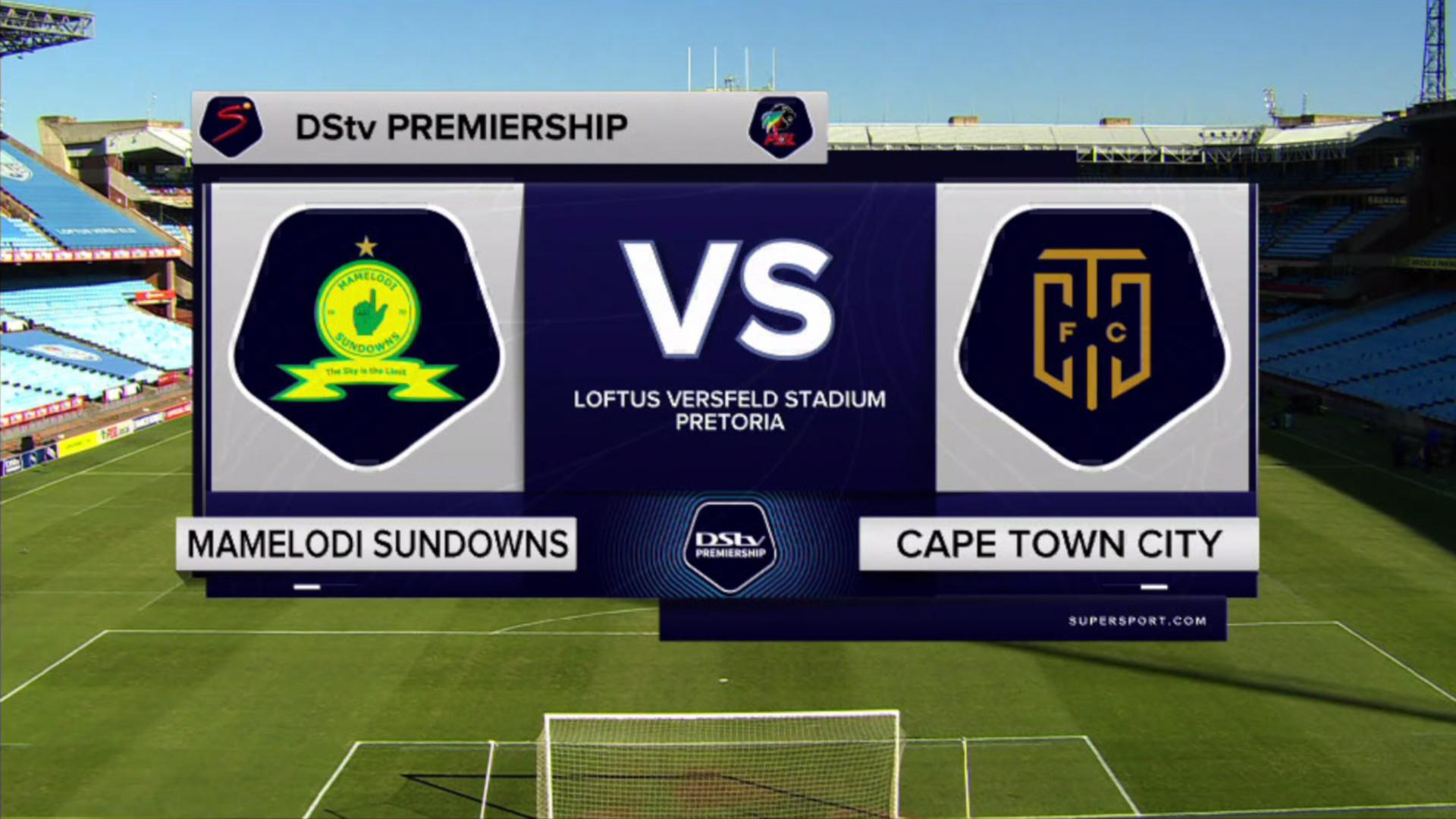 DStv Premiership | Mamelodi Sundowns v Cape Town City | Highlights