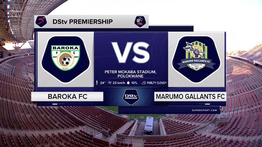 DStv Premiership   Baroka FC v Marumo Gallants   Highlights