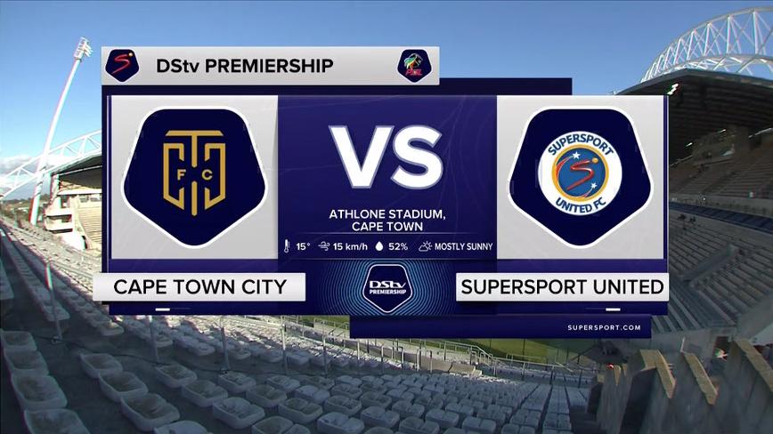 DStv Premiership | Cape Town City v SuperSport United  | Highlights