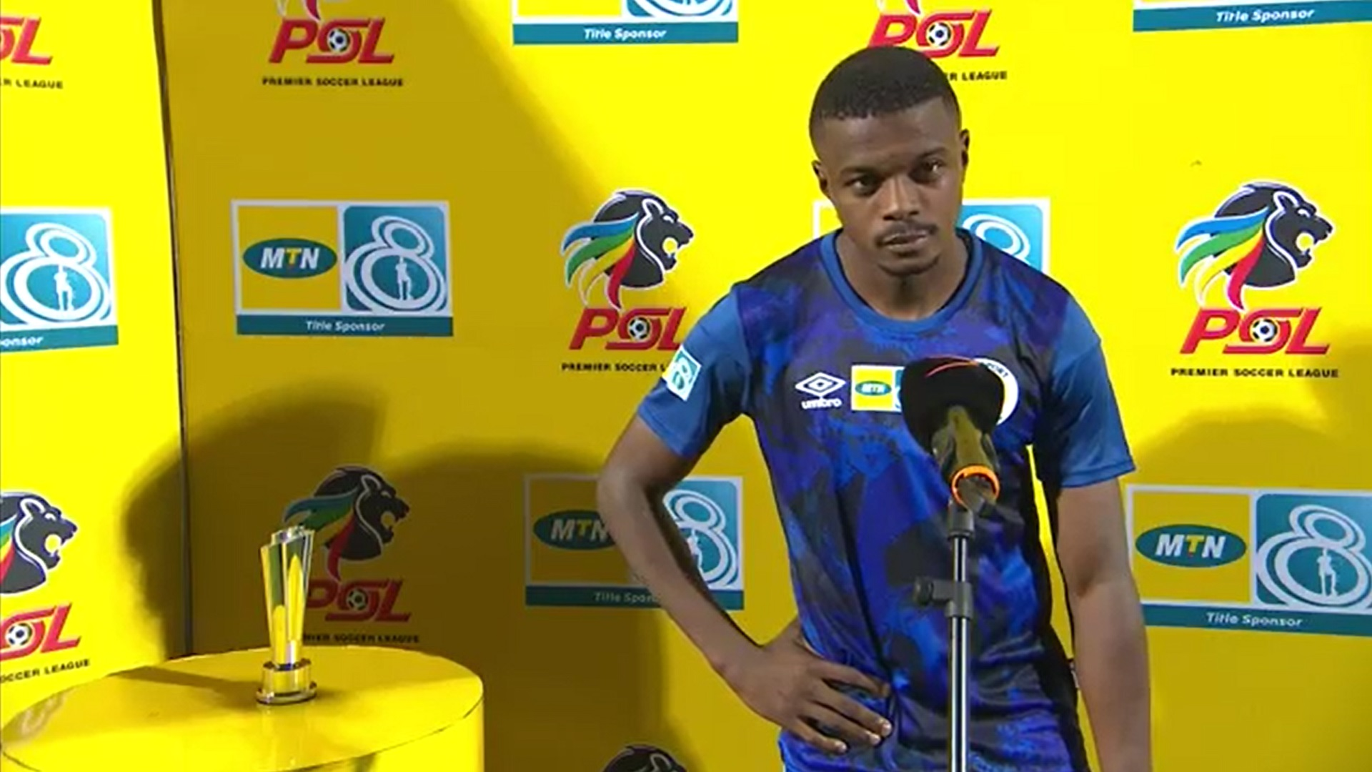 MTN8 | QF1 | Golden Arrows v SuperSport United | Post-match interview with Teboho Mokoena