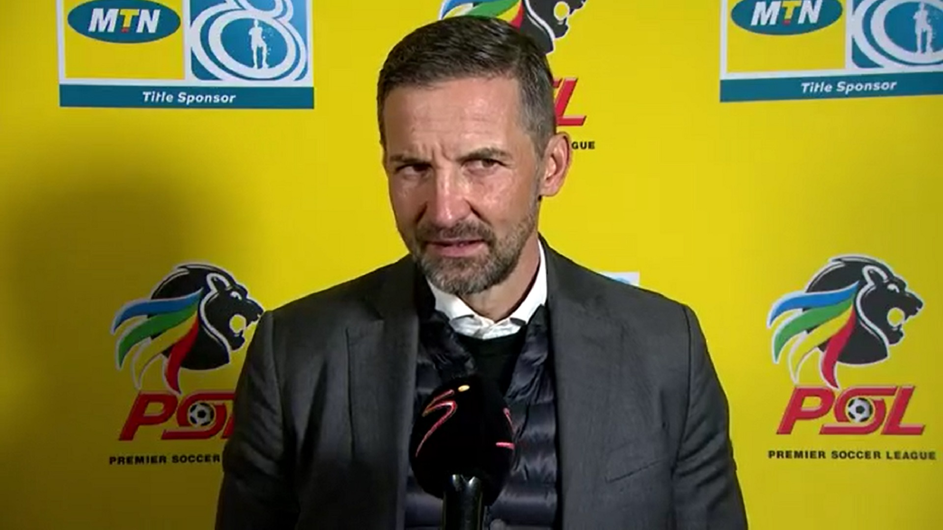 MTN8 | QF2 | Orlando Pirates v Swallows FC | Post-match interview with Josef Zinnbauer