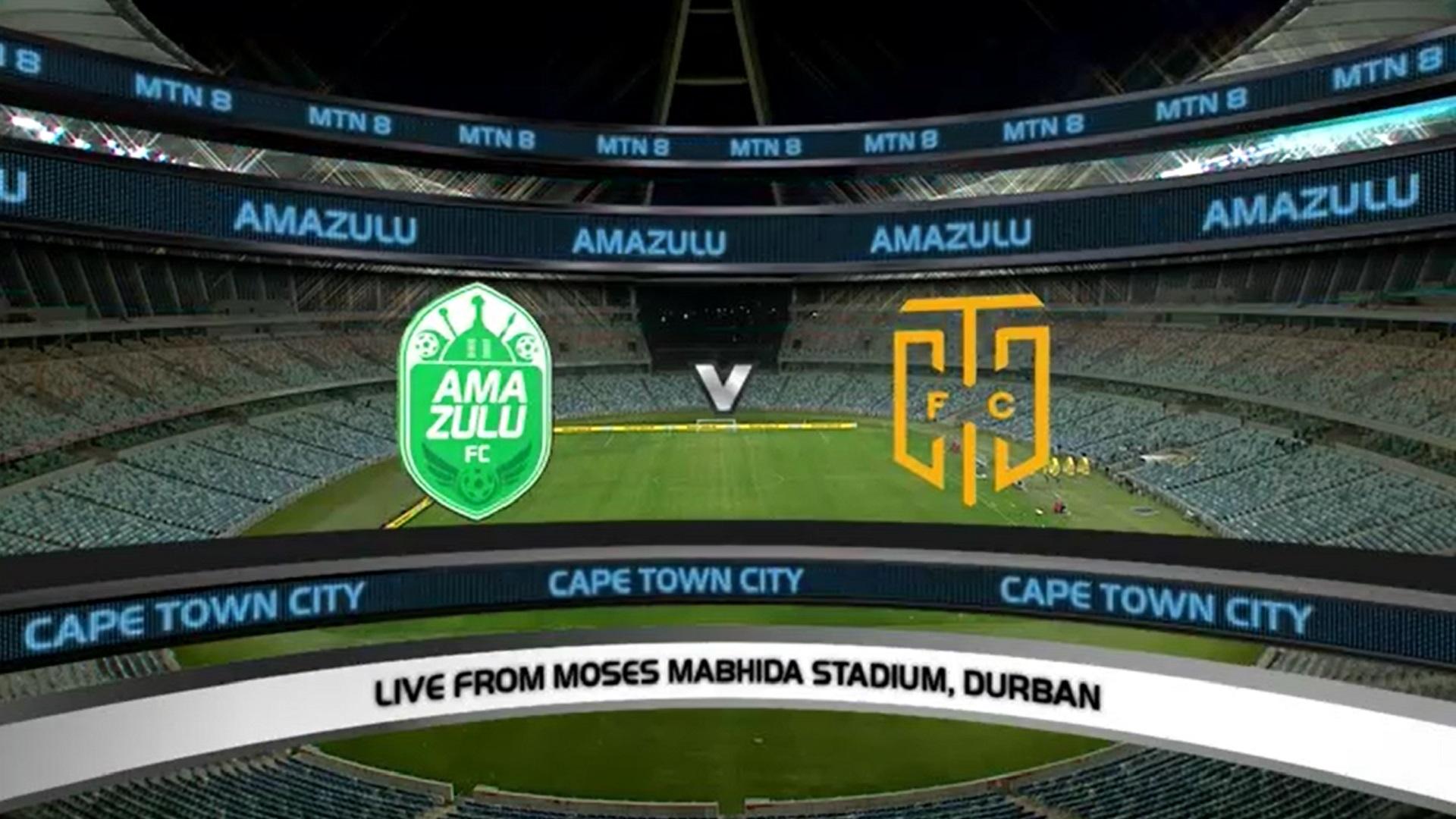 MTN8 | QF4 | AmaZulu FC v Cape Town City FC | Highlights
