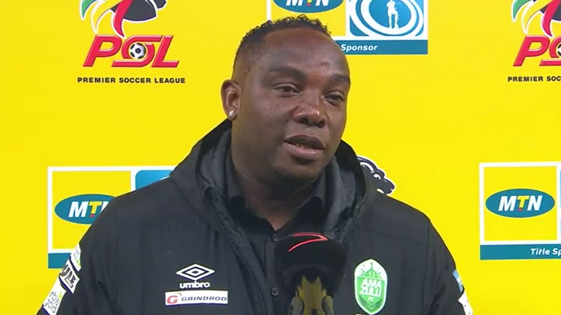 MTN8 | QF4 | AmaZulu FC v Cape Town City FC | Post-match interview with Benni McCarthy