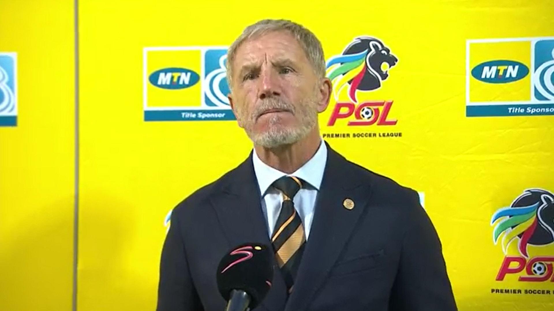 MTN8 | QF3 | Mamelodi Sundowns v Kaizer Chiefs | Post-match interview with Stuart Baxter