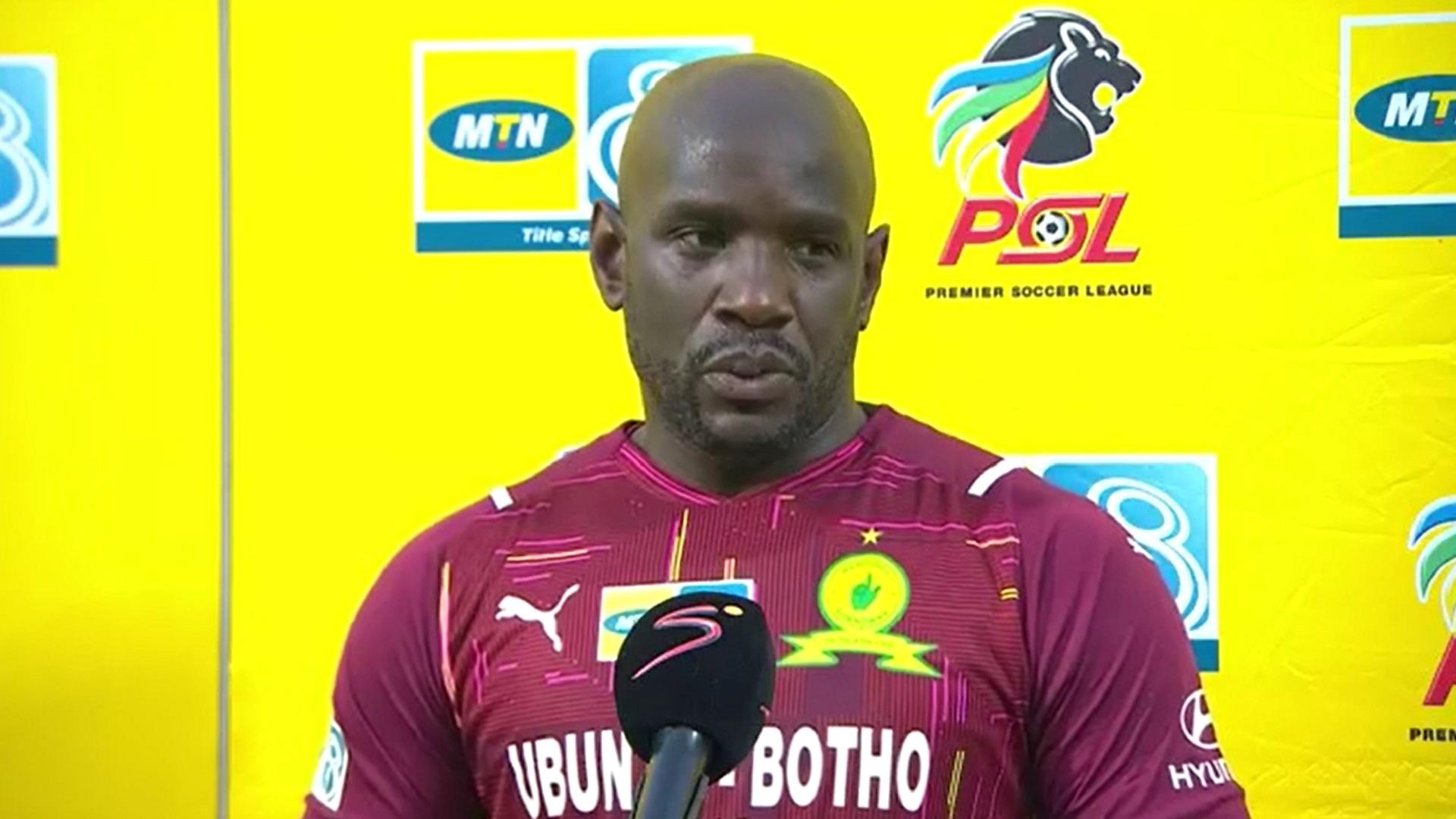 MTN8 | QF3 | Mamelodi Sundowns v Kaizer Chiefs | Post-match interview with Kennedy Mweene