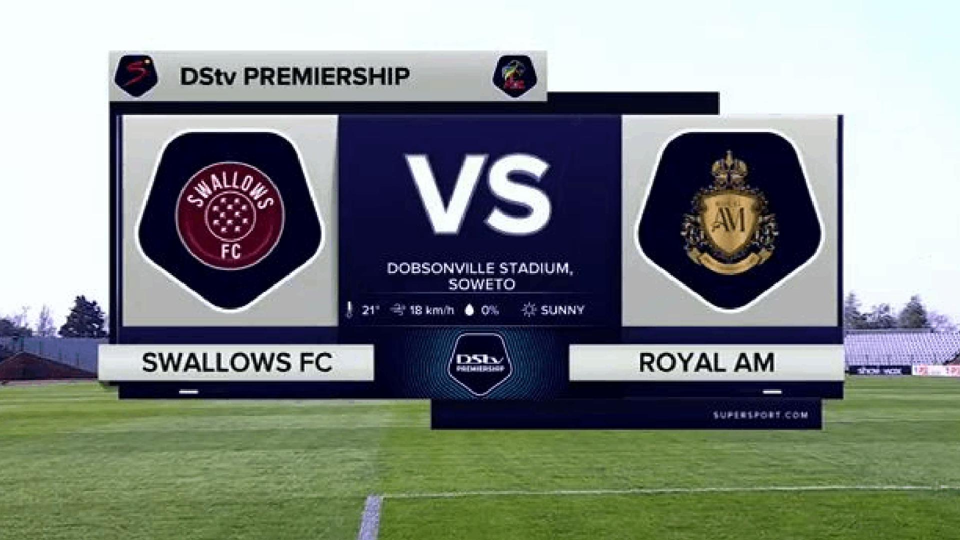 DStv Premiership | Swallows v Royal AM | Highlights