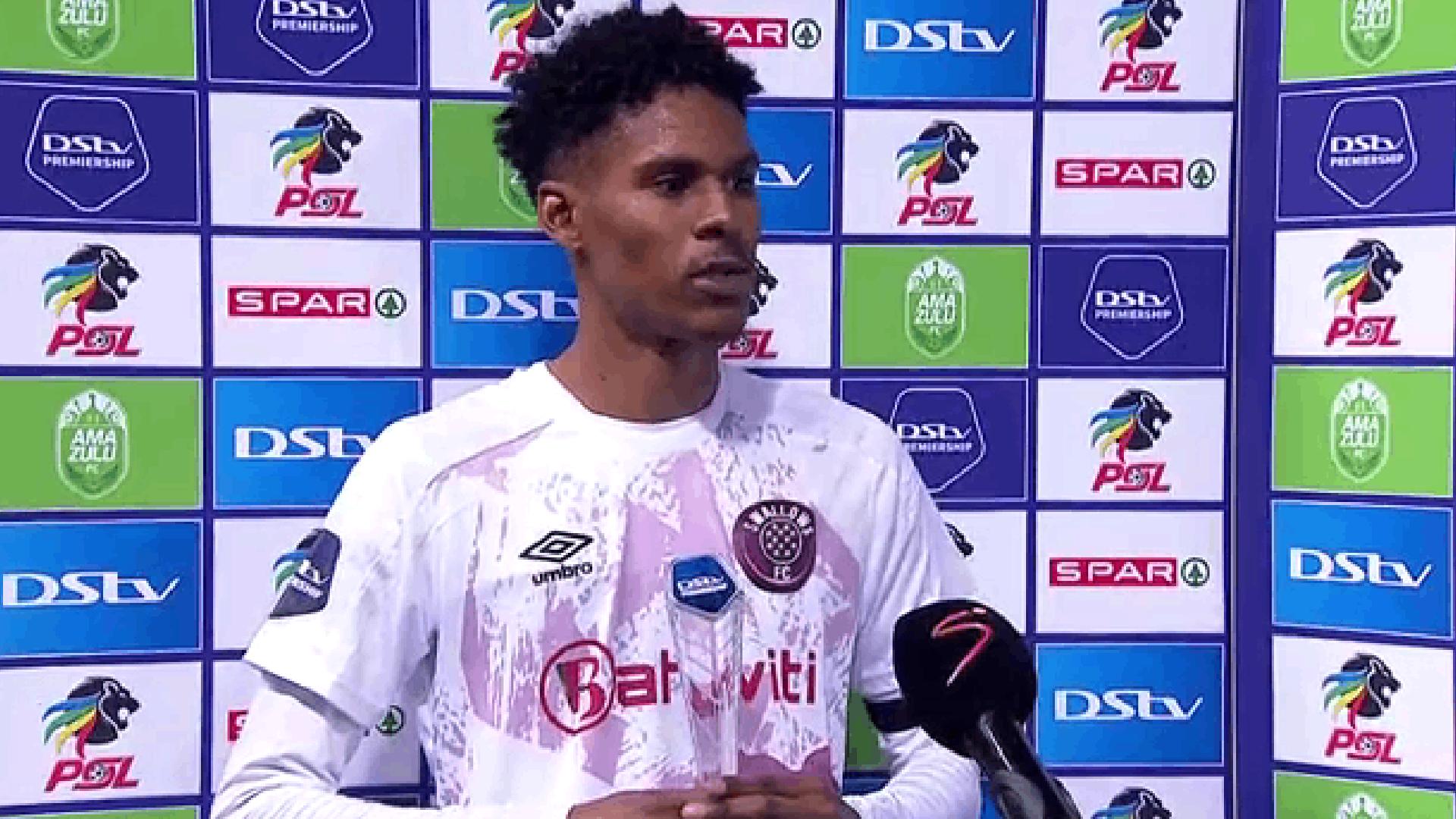 DStv Premiership   AmaZulu vs Swallows FC   Post-match interview with Junaid Sait