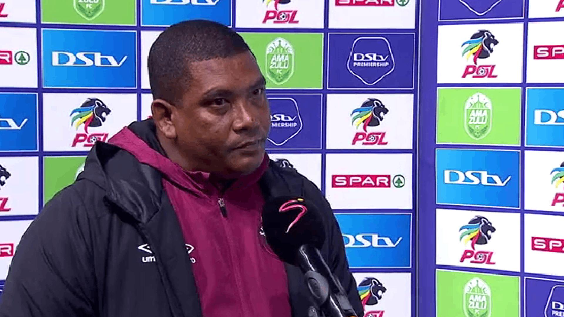 DStv Premiership   AmaZulu vs Swallows FC   Post-match interview with Brandon Truter