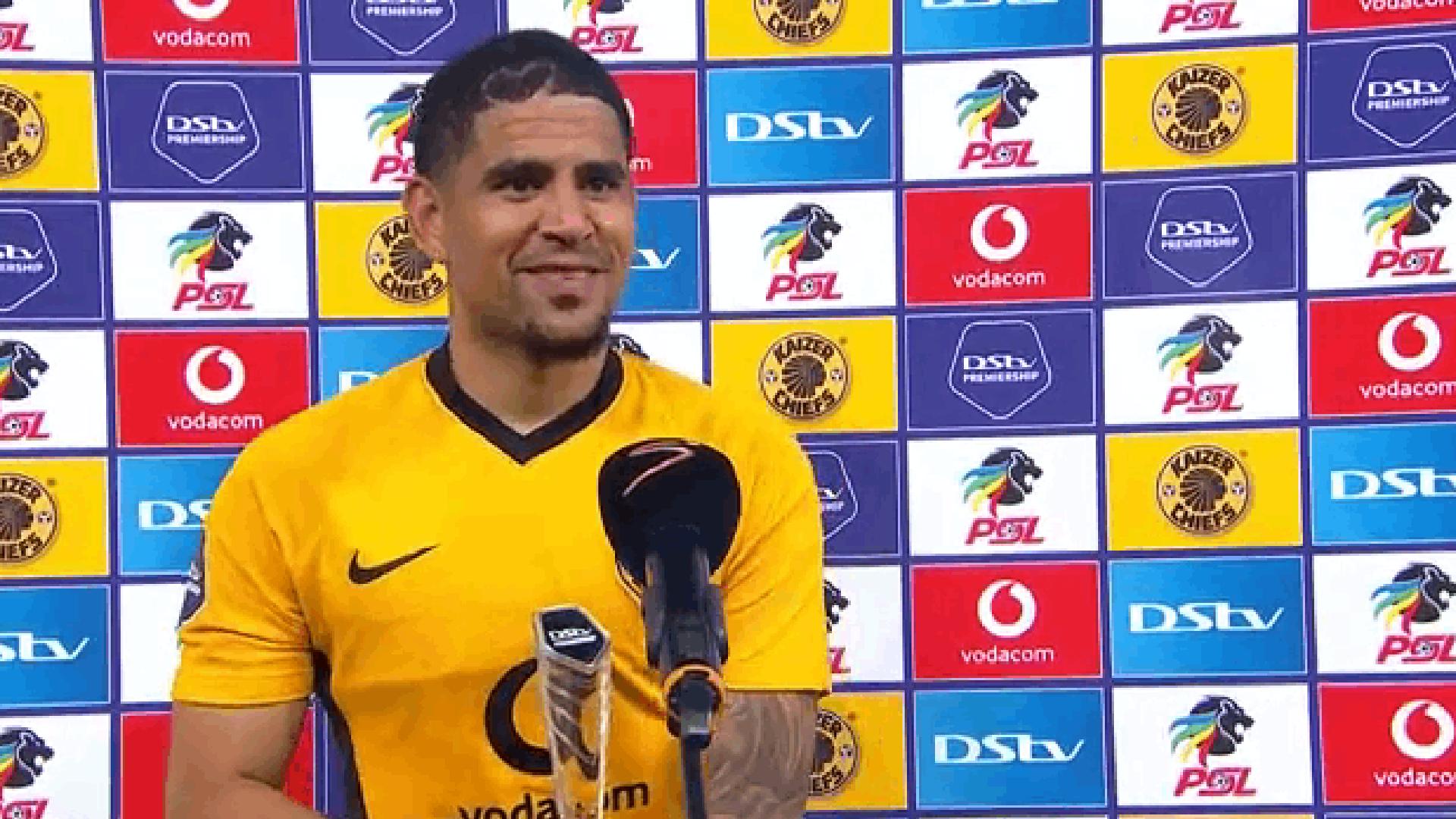 DStv Premiership   Kaizer Chiefs v Baroka FC   Post-match interview with Keagan Dolly