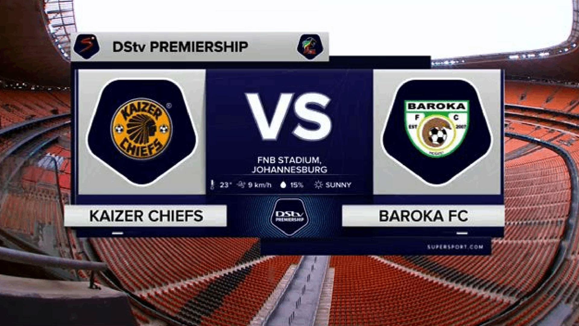 DStv Premiership   Kaizer Chiefs v Baroka FC   Highlights