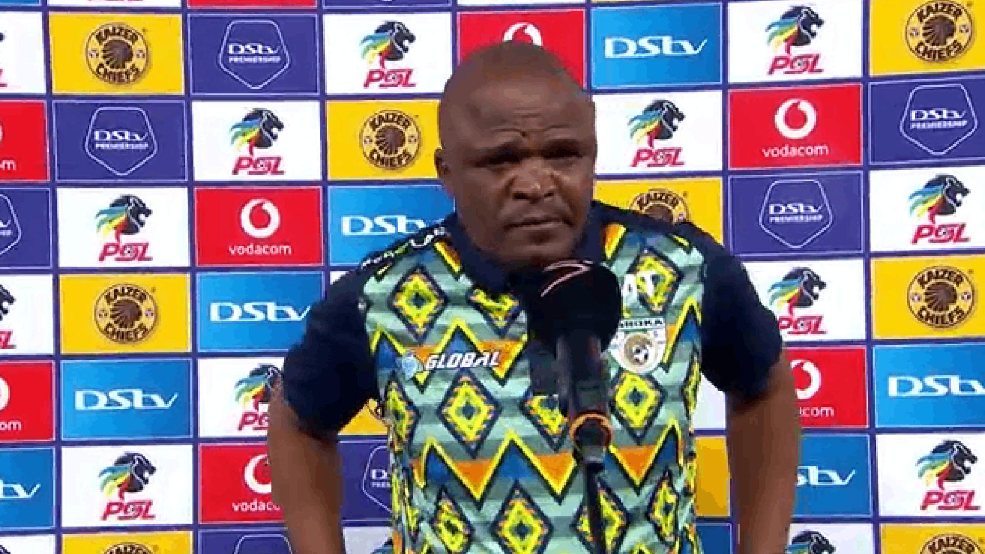 DStv Premiership   Kaizer Chiefs v Baroka FC   Post-match interview with Matsimela Thoka