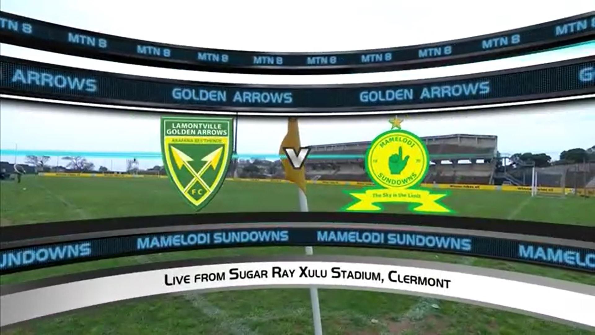 MTN8 | SF1 | 1st Leg | Golden Arrows v Mamelodi Sundowns | Highlights
