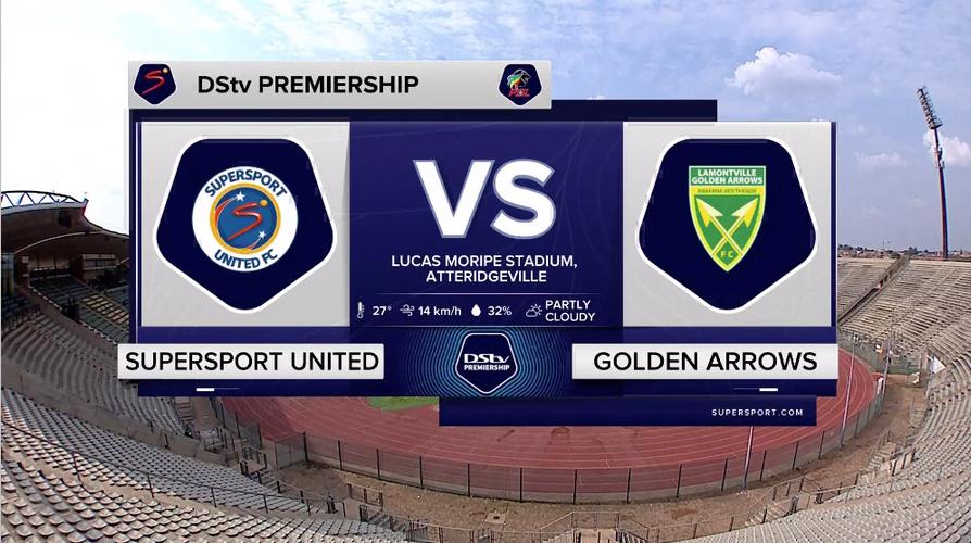 DStv Premiership   SuperSport United v Golden Arrows   Highlights