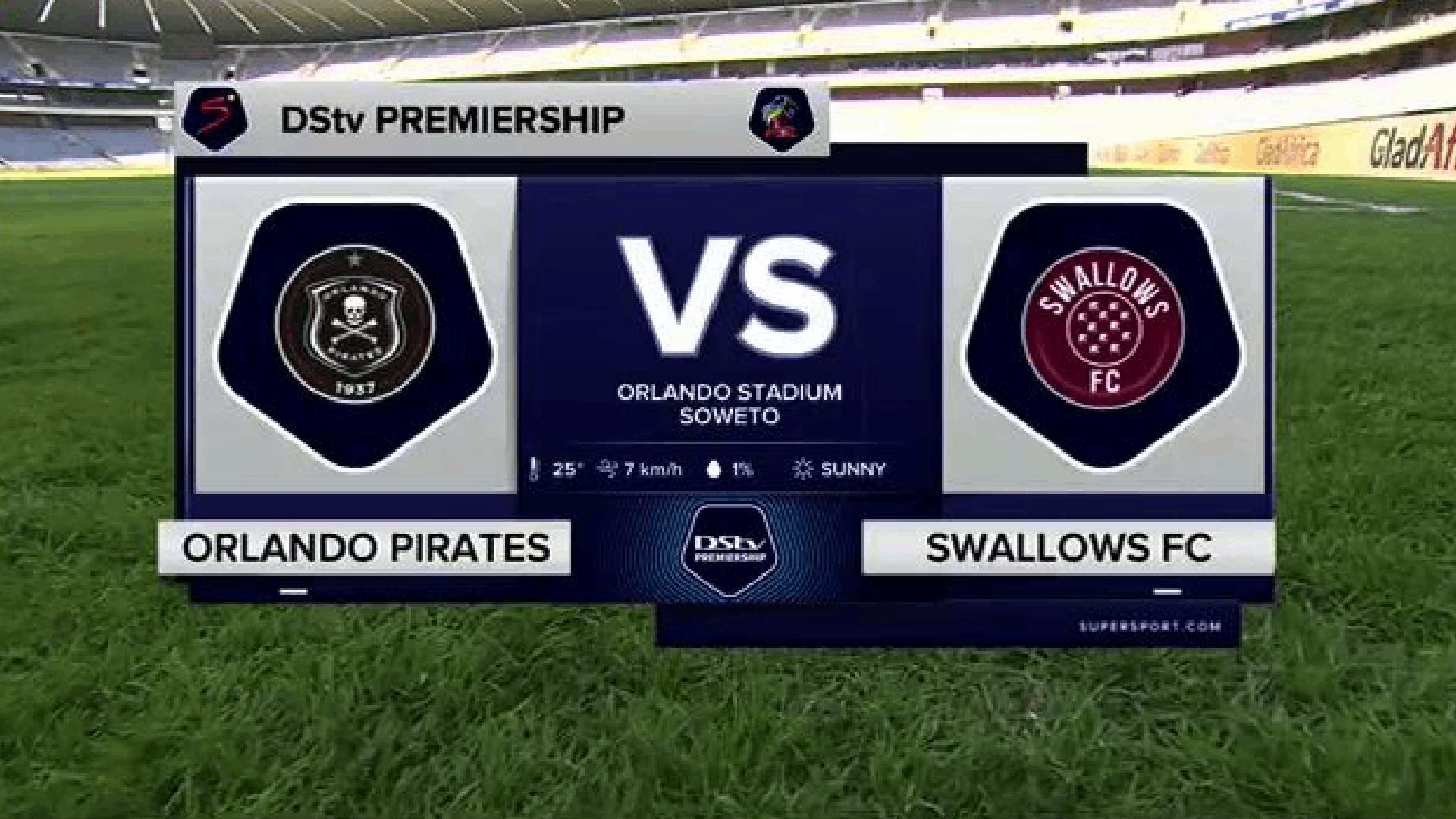 DStv Premiership | Orlando Pirates v Swallows FC | Highlights
