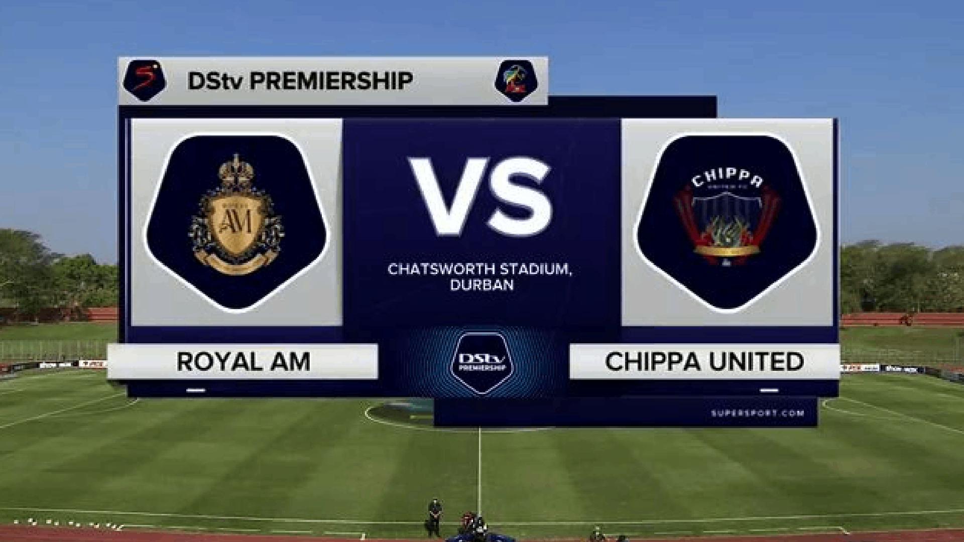DStv Premiership | Royal AM v Chippa United | Highlights