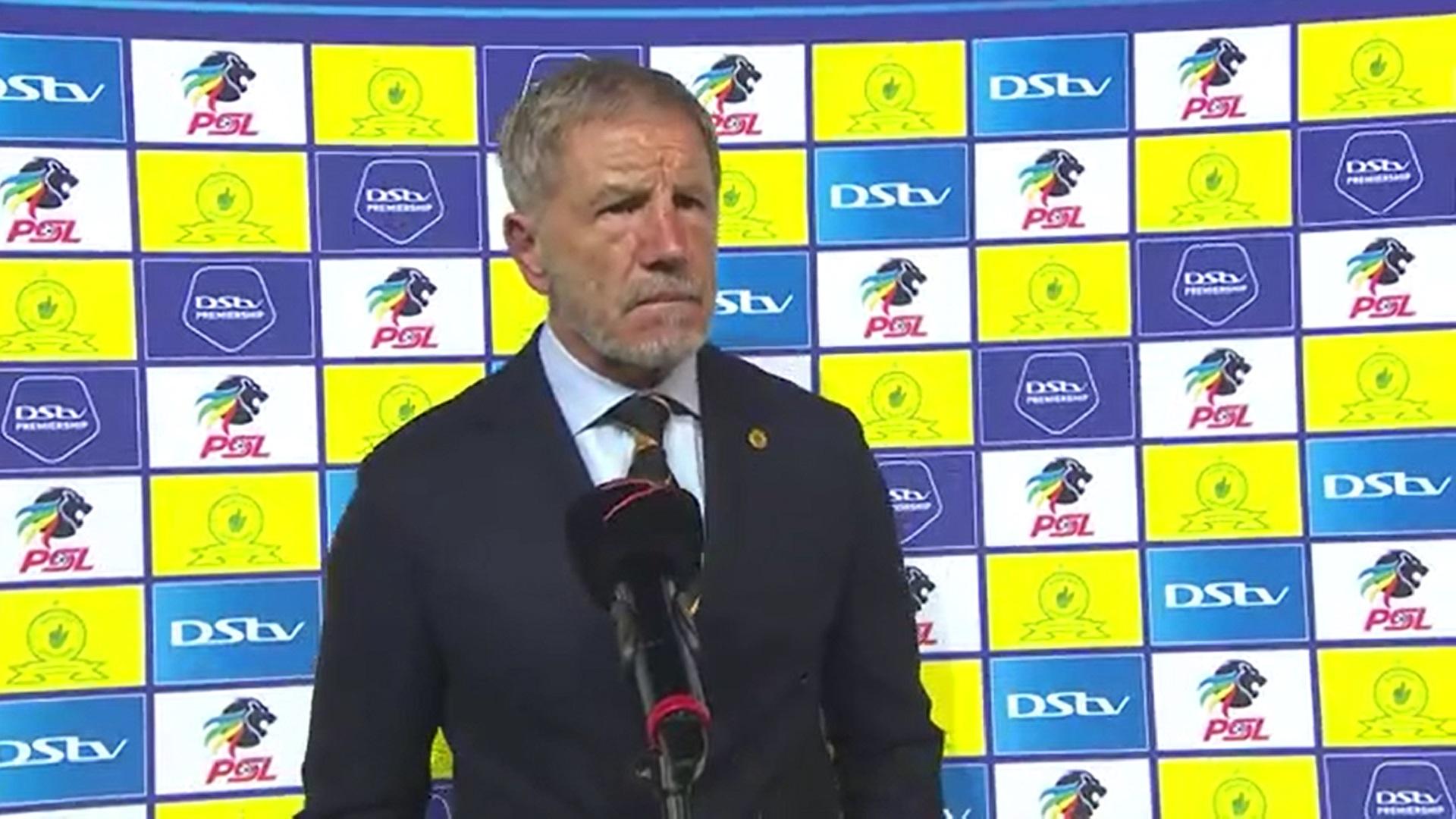 DStv Premiership | Mamelodi Sundowns v Kaizer Chiefs | Post-match interview with Stuart Baxter