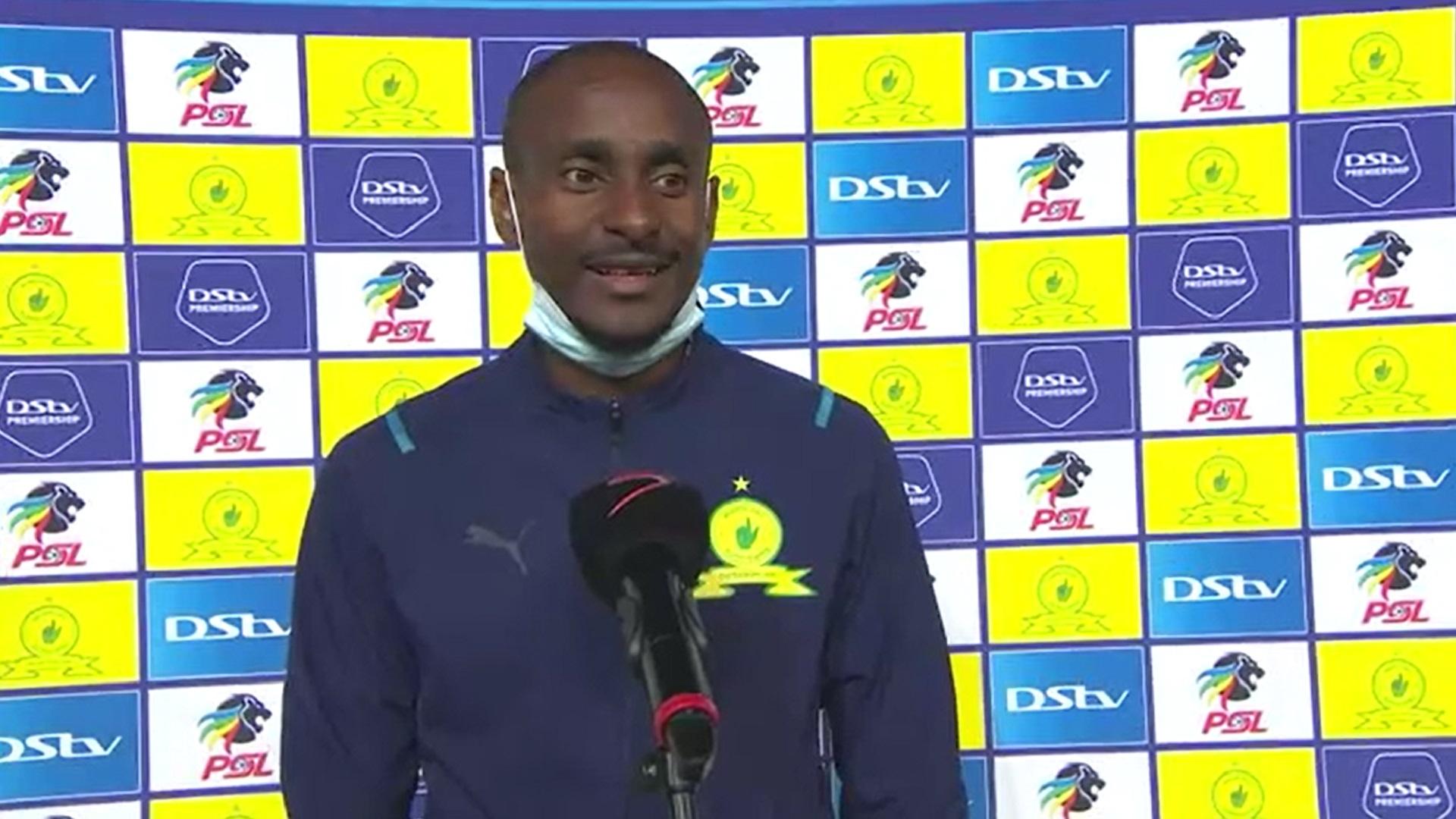 DStv Premiership | Mamelodi Sundowns v Kaizer Chiefs | Post-match interview with Rhulani Mokwena